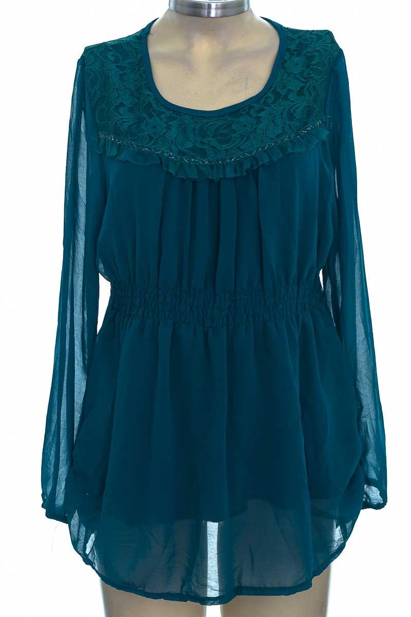 Blusa color Verde - Topnews
