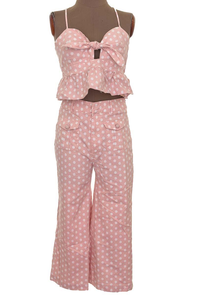 Conjunto Conjunto de Pantalón color Rosado - English Factory