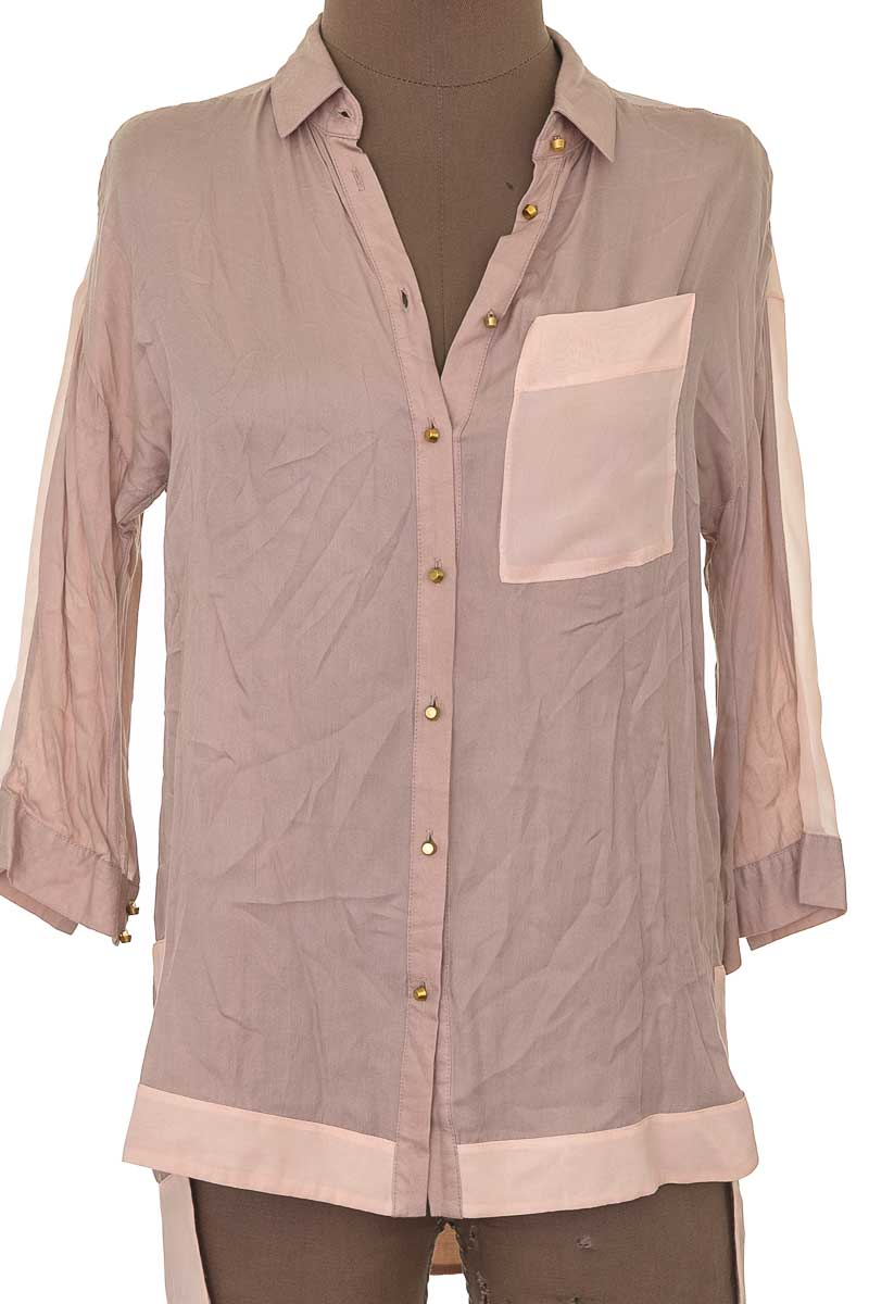 Blusa Casual color Beige - Warehouse