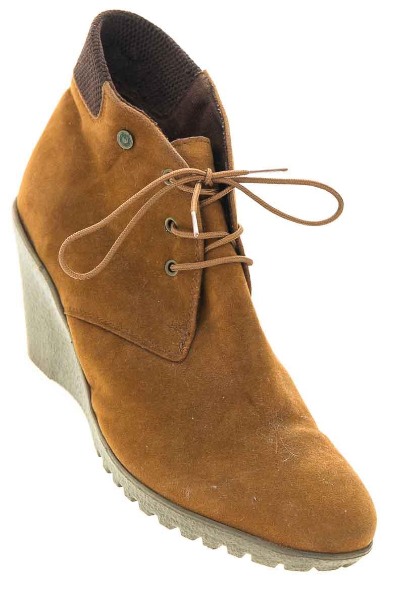 Zapatos Botín color Café - Aquiles