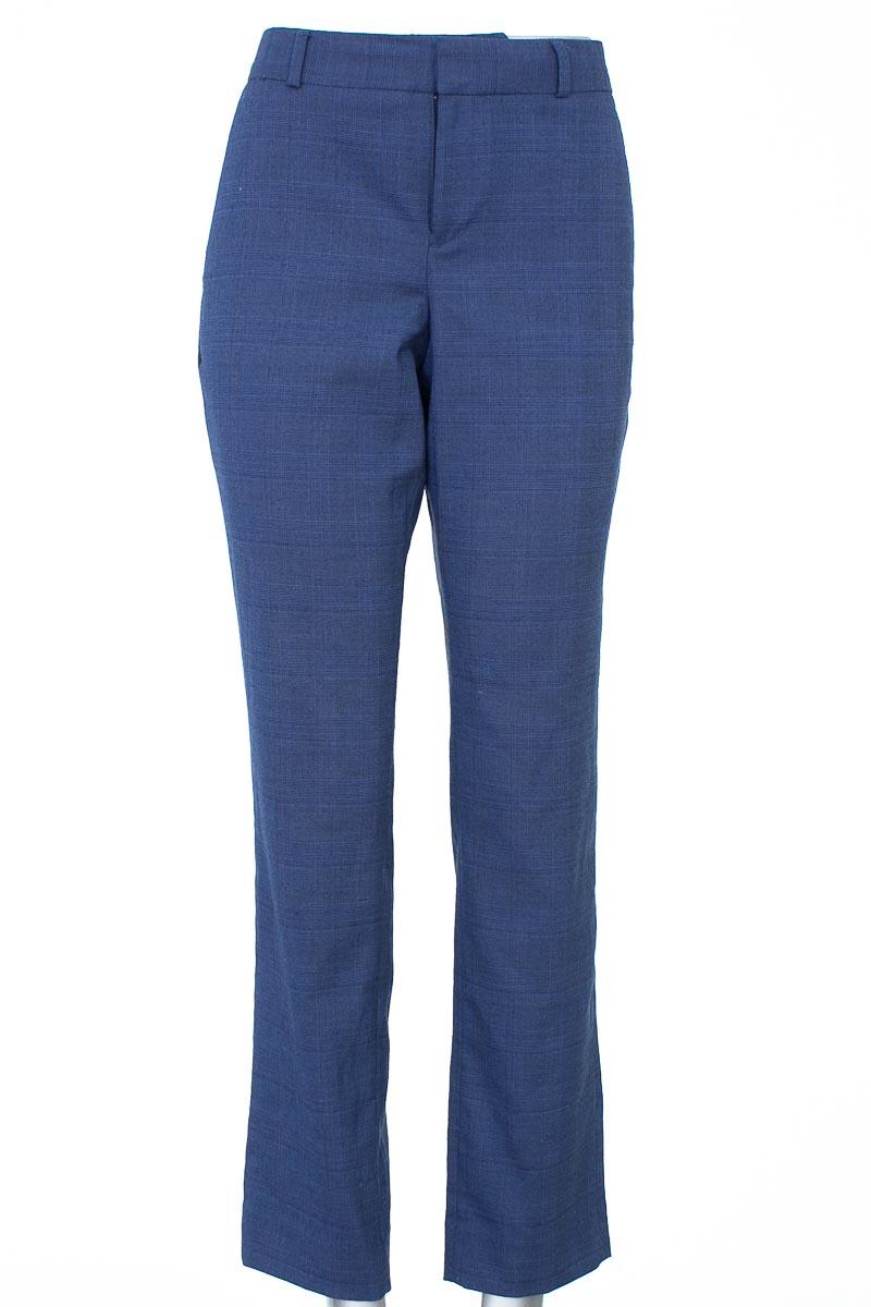 Pantalón Formal color Azul - Banana Republic
