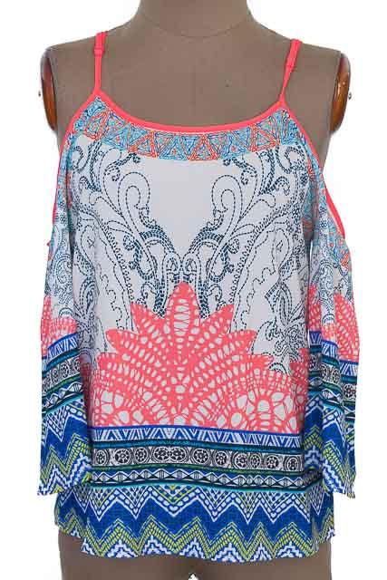 Blusa color Estampado - Bybla