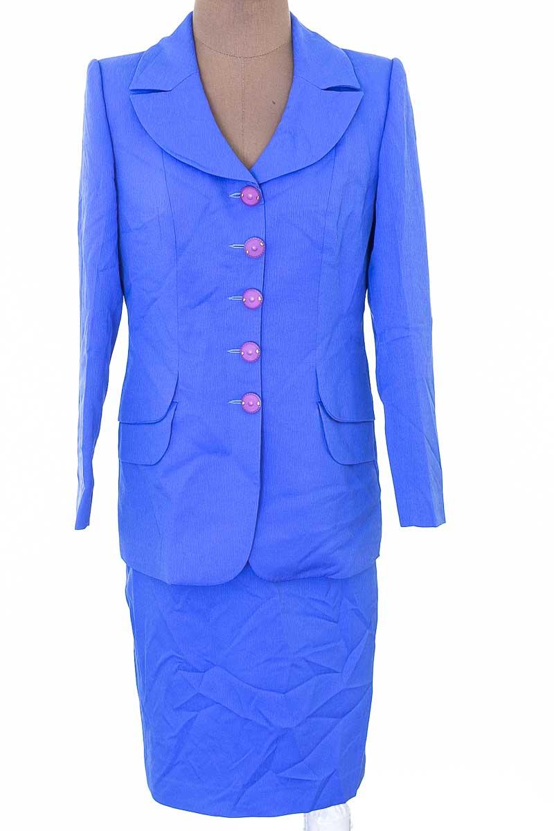 Conjunto Conjunto de Falda color Azul - Piedad Bibiana