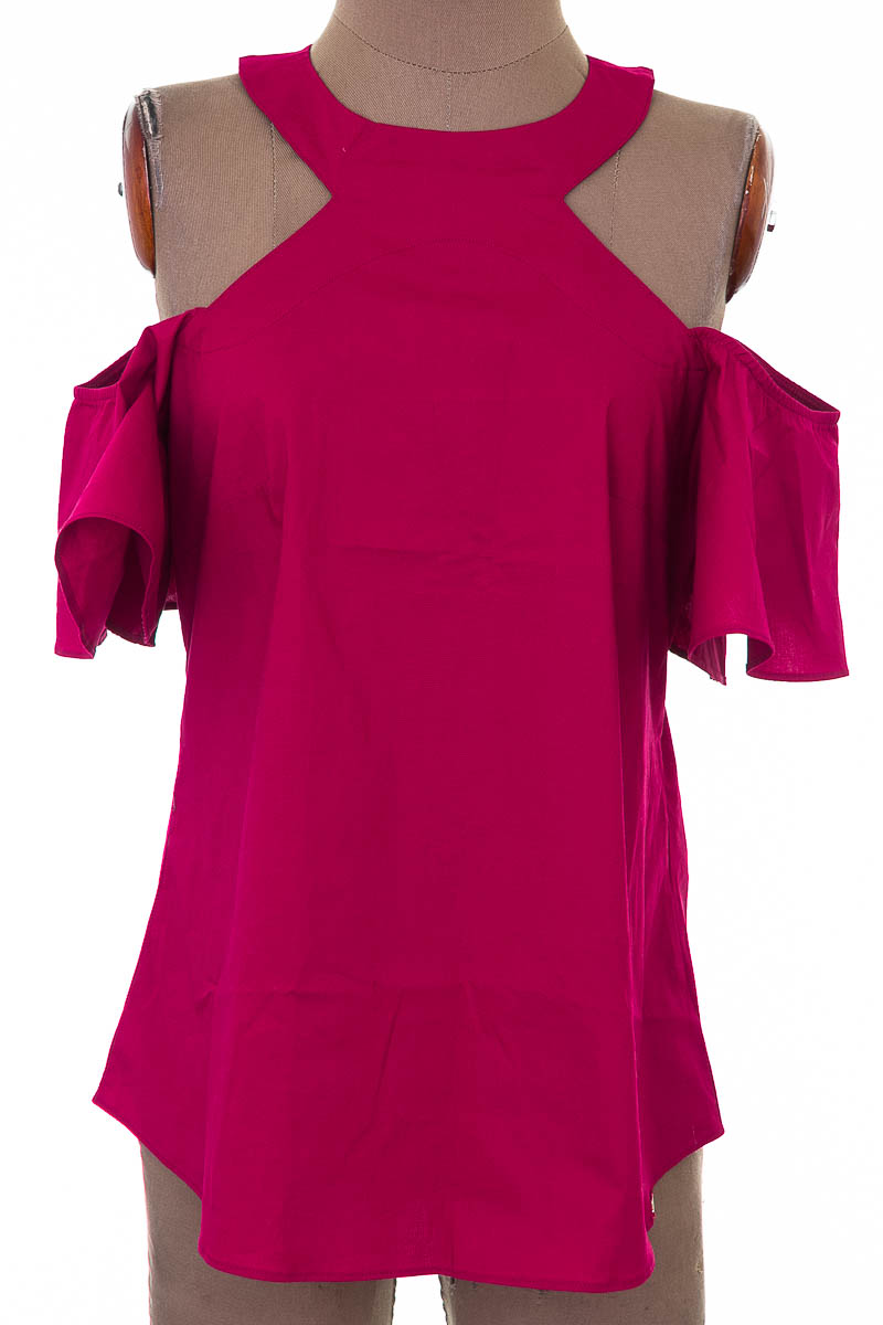 Blusa Casual color Morado - Ebba