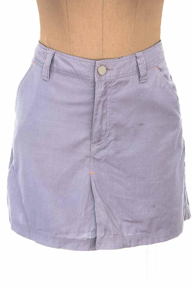 Falda Jean color Gris - ICEBREAKER