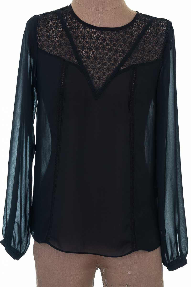 Blusa Formal color Negro - Warehouse