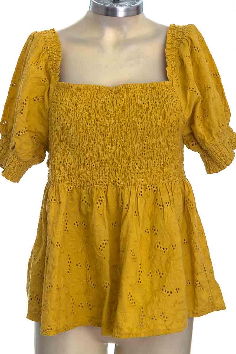Blusa color Amarillo - ELA
