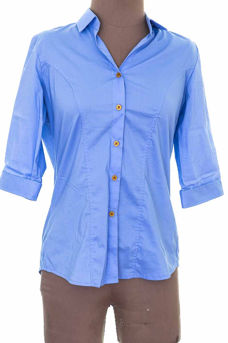 Blusa Casual color Azul - Montini