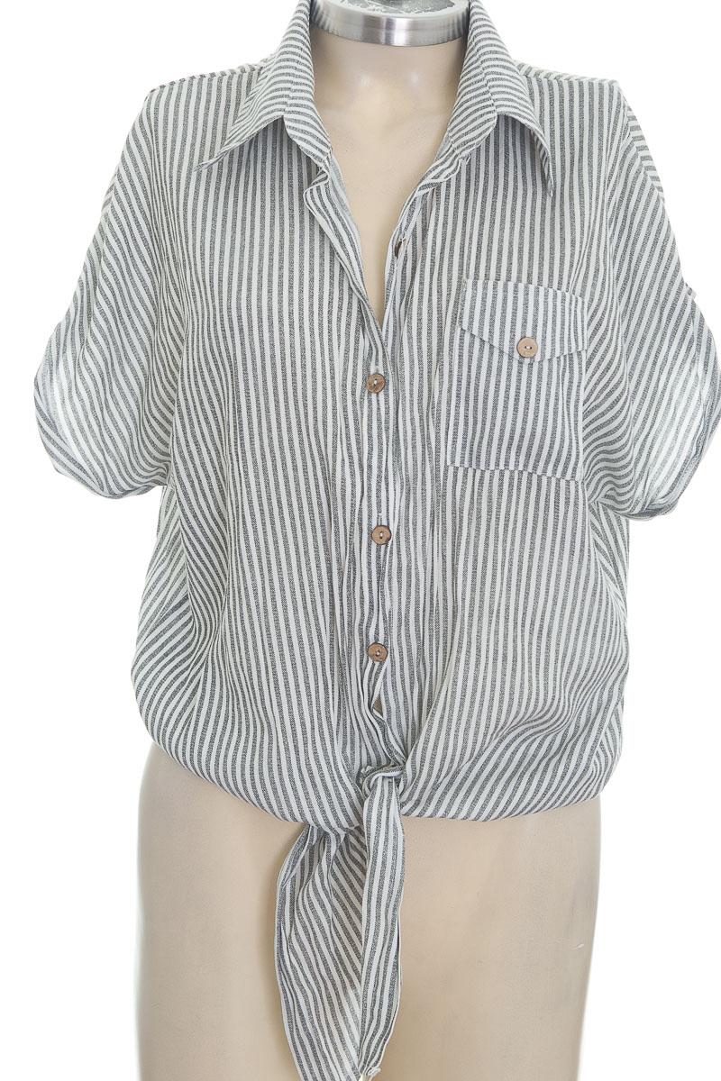 Blusa color Gris - Chic Moz