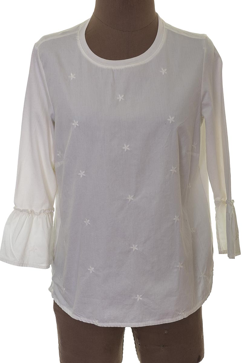 Blusa Casual color Blanco - Cortefiel