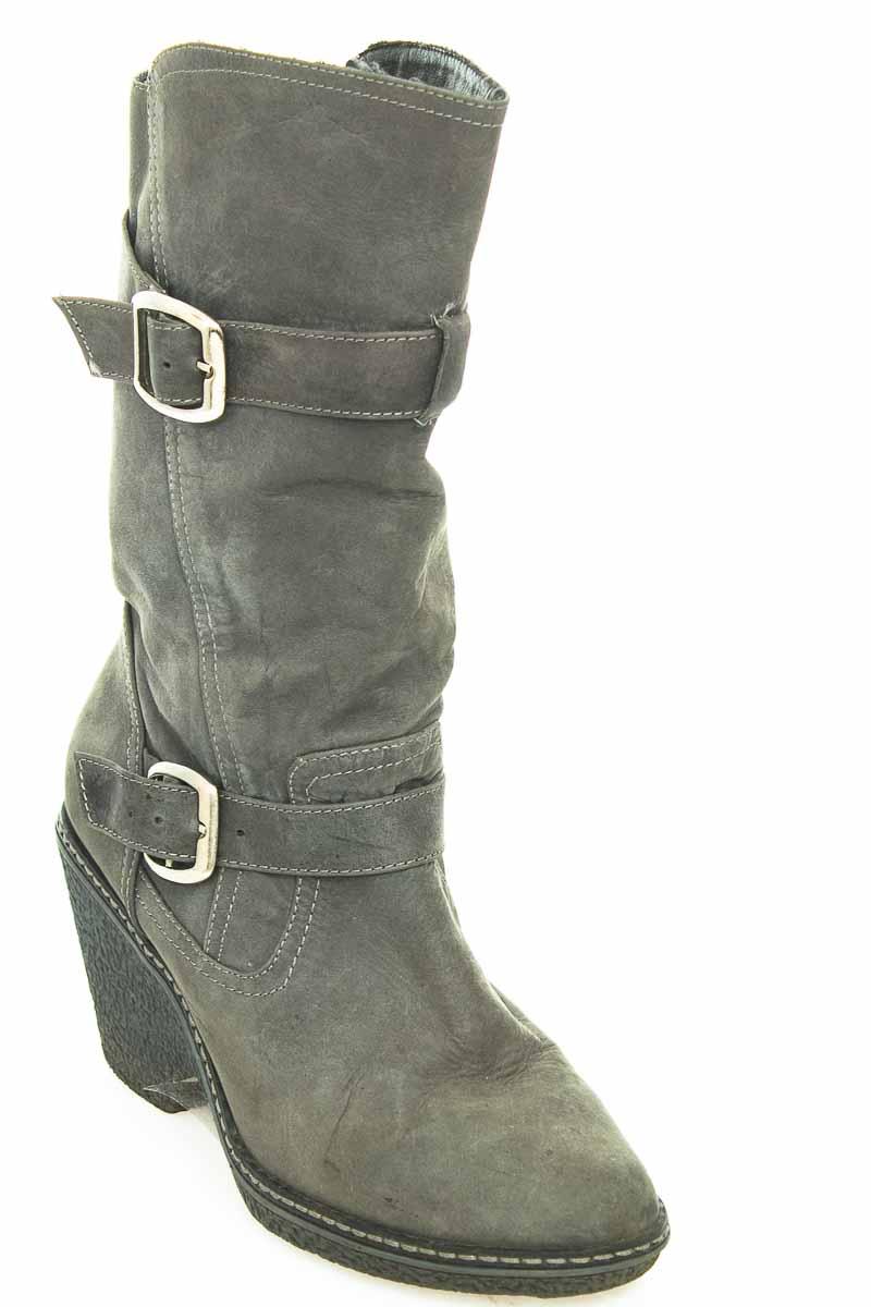 Zapatos Bota color Gris - Vía Spring